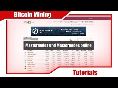 Anfängerreihe 11: Masternodes und Masternodes.online [Bitcoin Mining]