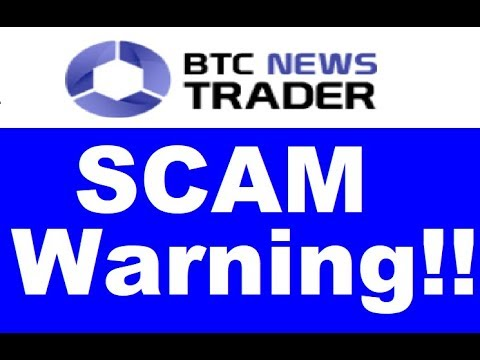 BTC News Trader Review - SCAM CONFIRMED (New Warning)