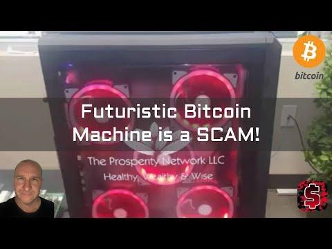 Futuristic Bitcoin Machine is a SCAM!