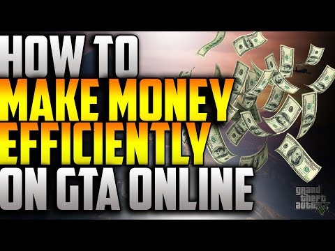 HOW TO MAKE MONEY ON GTA ONLINE