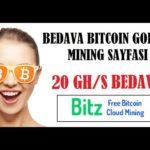 20 Ghs Bedava Madencilik Gücü – Free Bitcoin Gold – Bitzfree SCAM ?
