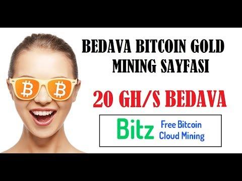 20 Ghs Bedava Madencilik Gücü - Free Bitcoin Gold - Bitzfree SCAM ?