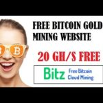 Free Bitcoin Gold Mining Site – 20 GH/s Bonus – Bitzfree is SCAM?