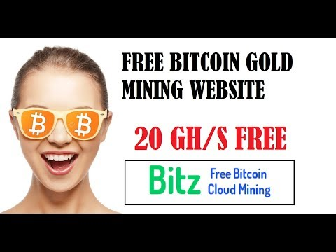 Free Bitcoin Gold Mining Site - 20 GH/s Bonus - Bitzfree is SCAM?