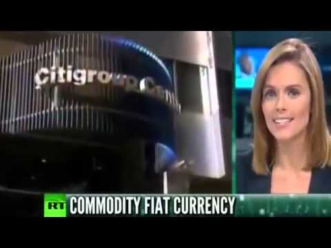 Citigroup Chief Economist GOLD is Effectively SHINY BITCOIN