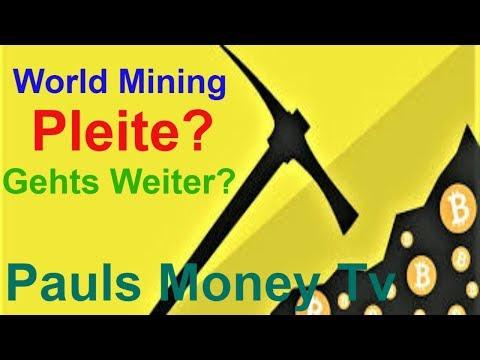Bitcoin Cloud Mining Deutsch | Meine Ergebnisse Bei WM