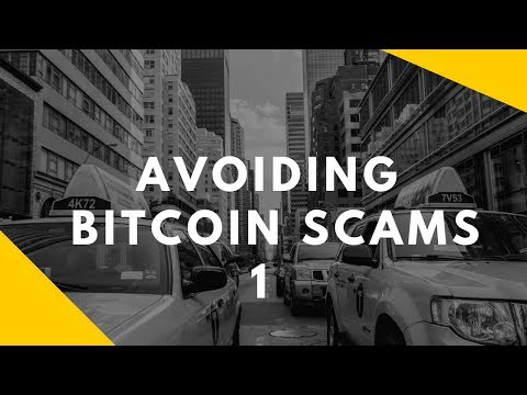 Avoiding One of the Scams in the Bitcoin Industry