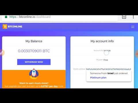 Mining Free Bitcoin, terbukti membayar no scam