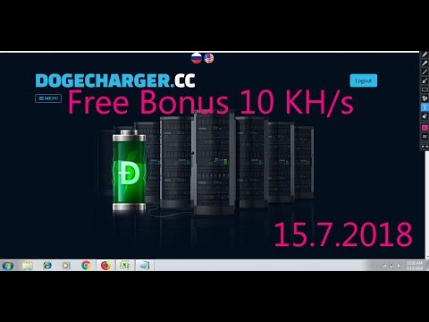 Free Bonus 10 KH/s | DogeCharger Mining | Cloud Mining | Earn Free Unlimited Dogecoins