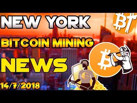 Bitcoin news bitcoin mining news in New York|14/7/2018|#Dailymining