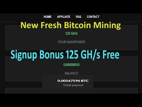 GR Hash New Fresh Bitcoin Mining 125 GH/s Free Hindi / Urdu 20018