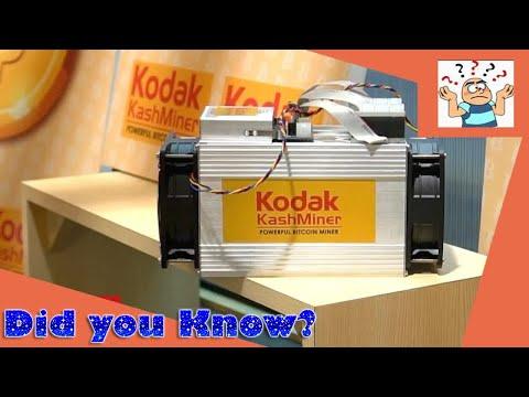 Kodak Bitcoin mining 'scam' evaporates