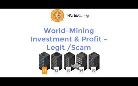 World-Mining Investment & Profit – Legit or Scam #Bitcoin #Mining #Cloud-mining Review