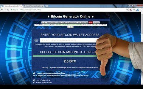 bitcoingen.online Review – SCAM Alert!