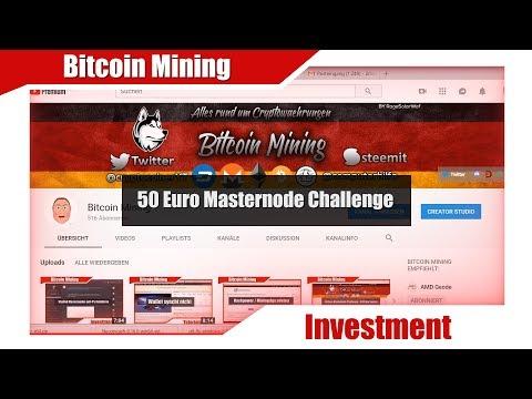 Änderungen 50 Euro Masternode Challenge + Umfrage und Termin [Bitcoin Mining]
