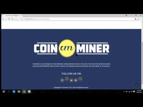 coinminner.co review Bitcoin cryptocurrency scam