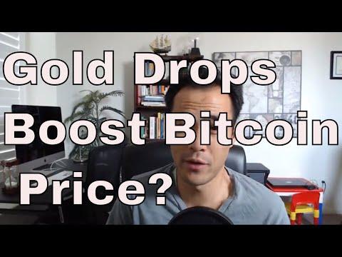 Will the drop in Gold Boost Bitcoin? Bullish News?