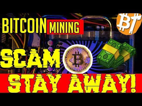 The free bitcoin mining scam (2018)|Scamexposing