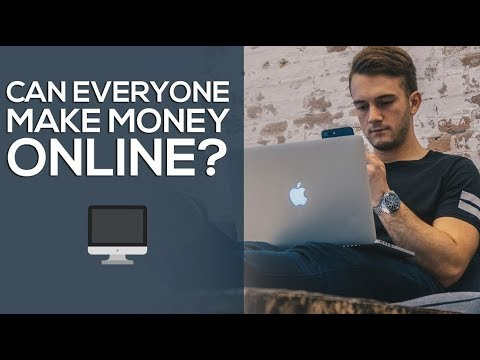 CAN YOU MAKE MONEY ONLINE ?  Revealing My Secret