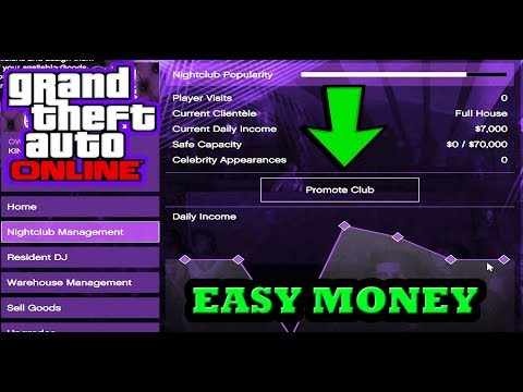 GTA 5 HOW TO PROMOTE YOUR NIGHTCLUB AND MAKE MORE MONEY ONLINE