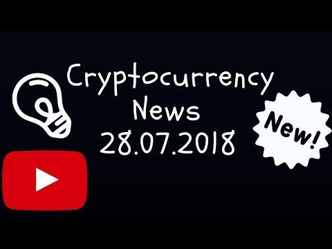 Crypto News 28.07.18 - Bitcoin ETF Ethereum Cardano cryptocurrency