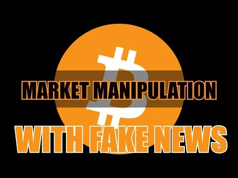 Bitcoin Fake news Spikes Market Manipulation, Why did Bitcoin price go down
