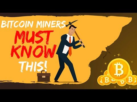Bitcoin Miners MUST KNOW This! - Today's Crypto News