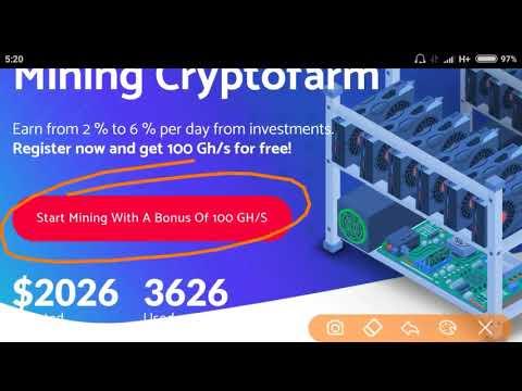 Terbaru cloud mining bitcoin legit site free 100 Ghs