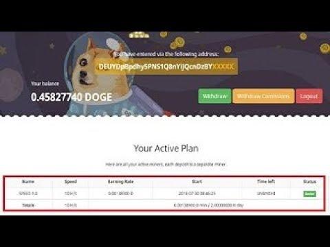 DogeSpeeder | Free Mining Doge - 0.00138900 Đ min/2.00000000 Đ day. || No Investment