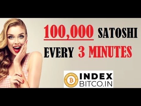 100,000 Satoshi Every 3 Minutes - indexbitco.in - Payment Proof - SCAM or LEGIT?