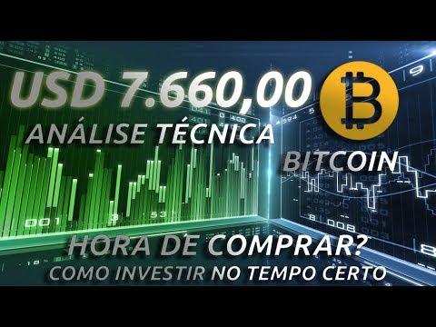 BITCOIN - ANÁLISE TÉCNICA 31/07/2018 HORA DE COMPRAR? #bitcoin