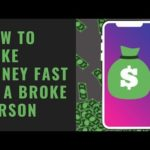 How To Make Money Fast Online As A Broke Person From Your Smartphone (Over $1500 Dollars Made)