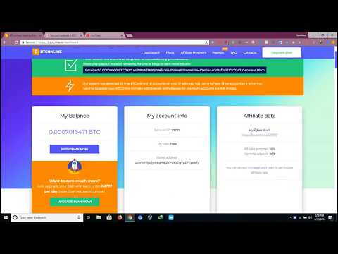 FREE Bitcoin Mining Pool | BTConline.io No SCAM!!! received 0.006 BTC Live Payment Proof