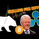BITCOIN's bearish reversal scenario. Clinton hired by Ripple XRP? XRP News.