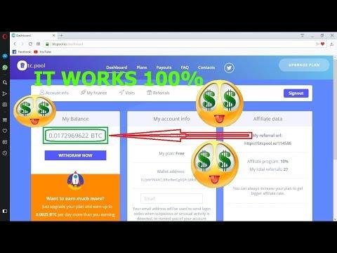 New bitcoin mining sit || How to mining bitcoin || you can make parday 0.0175 btc [Bangla Tutorial]