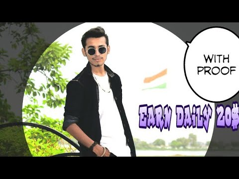Earn Daily 20$ Online Earning Trick || Earn Money in hindi