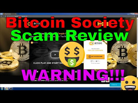 Bitcoin Society Club Scam Review