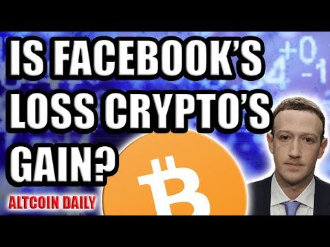 Is Facebook's Loss Crypto's Gain? KYC a SCAM? [Bitcoin & Cryptocurrency News]