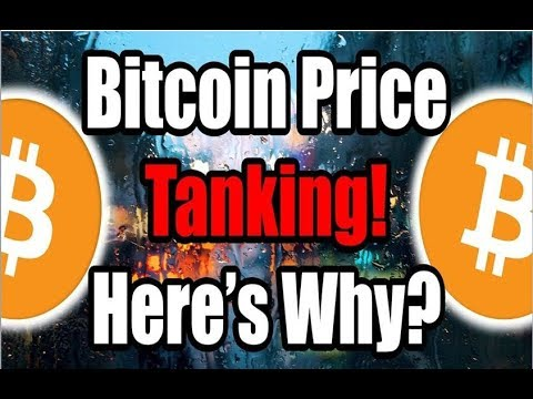 Bitcoin News Update! The Bitcoin Price Is Tanking -- Here's Why
