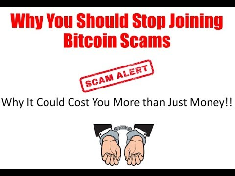 Joining Bitcoin Scams Could Cost You More Than Money
