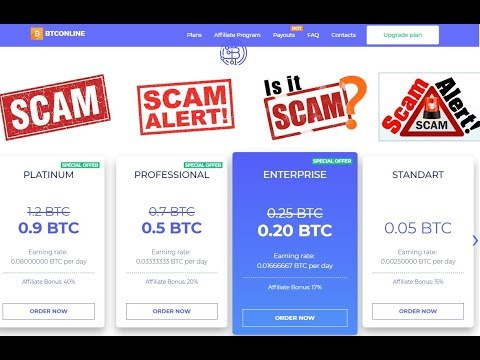 BTConline.io Reviews - MINING BITCOIN SCAM ALERT