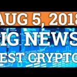 BIGGEST NEWS OF THE YEAR FOR BITCOIN? STILL DOWN? BEST CRYPTOCURRENCY? NEO PRICE 2018 + BTC GIVEAWAY