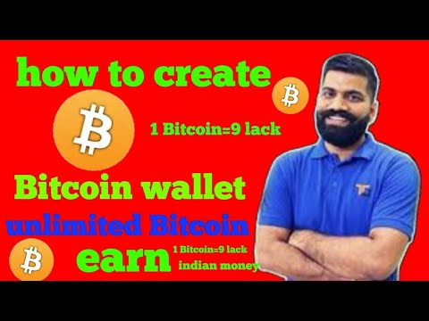 How to create Bitcoin wallet/account|unlimited Bitcoin earn|tips&topic