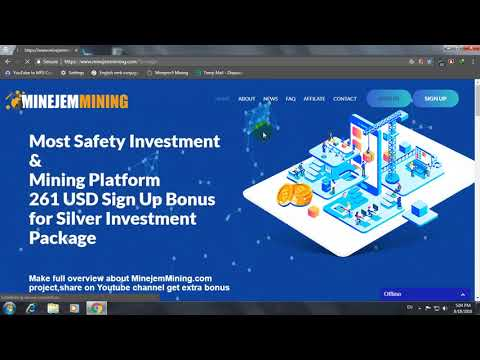 new mining website make money online with minejemmining 2018