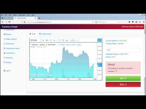 CurrencyOcean || Get Free 0.025 BTC || New Bitcoin Mining Site