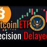 BREAKING NEWS: Bitcoin ETF Decision Delayed By The SEC!