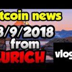 Bitcoin etf and bitcoin SEC news 8/9/2018! VLOG 3