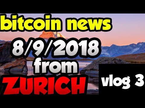 Bitcoin etf and bitcoin SEC news 8/9/2018! VLOG 3