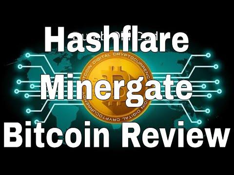 Minergate, Hashflare, Bitcoin Mining Review