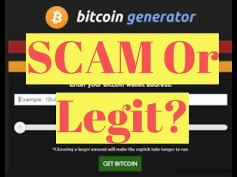 Free BTC generator || Legit or Scam?? || Must watch